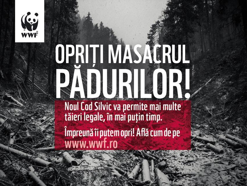 Opriti masacrul padurilor!